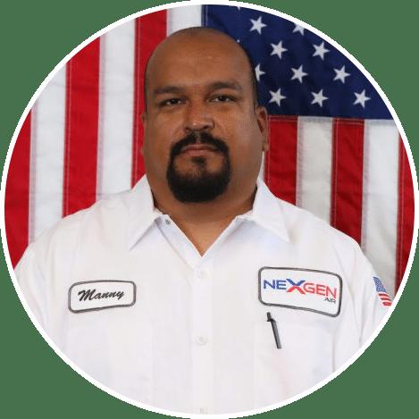 Manny Arangure Service Tech