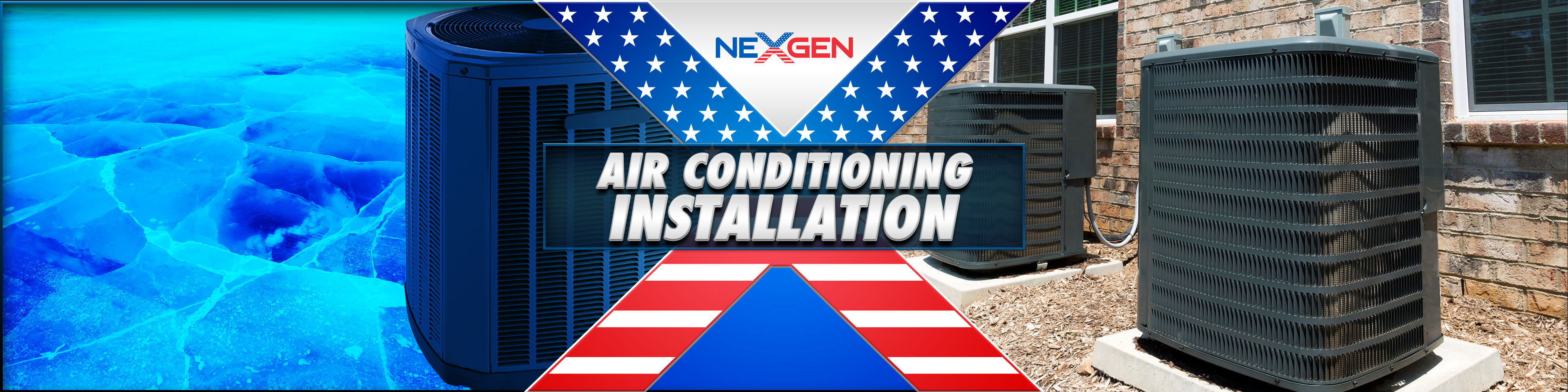 Air Conditioning Installation In Southern California Nexgen Condensing Unit And Refrigeration System Ac Install