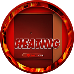 heating button