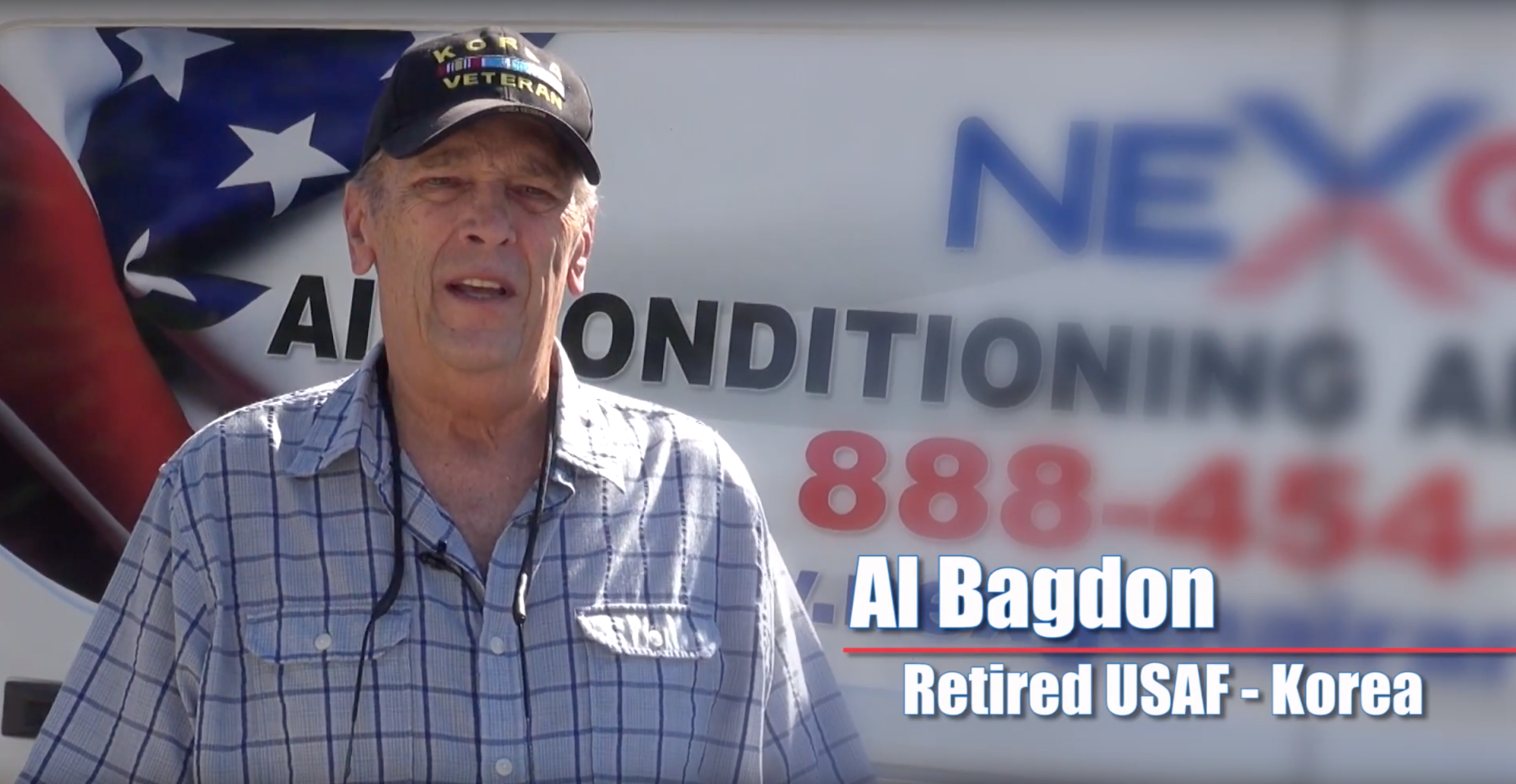NexGen Air Is Giving Back to Our Veterans   Hear Al's Story About How He Got a New AC Unit
