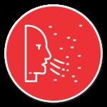 carbon monoxide poisoning hazard icon