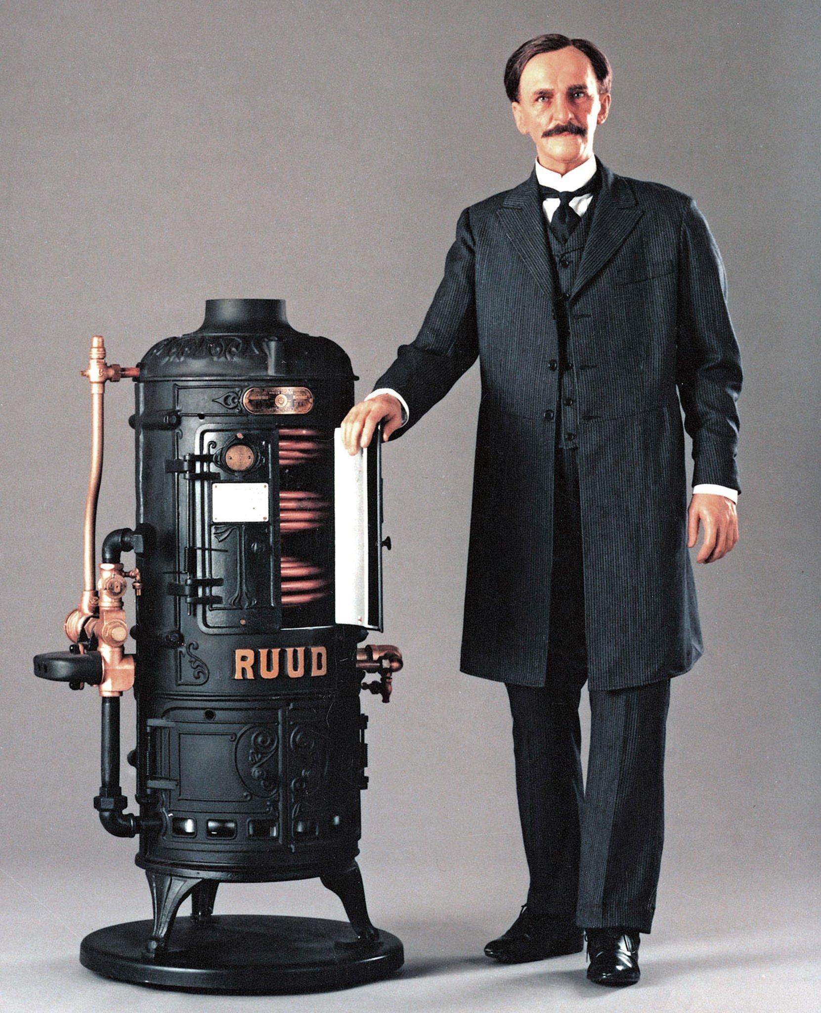 Edwin Rudd Water Heater