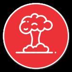 explosion hazard icon