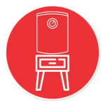 water heater stand icon