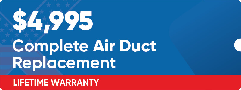 Complete Air Duct Replacement Coupon