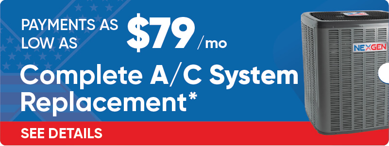 Complete AC System Replacement Financing Offer