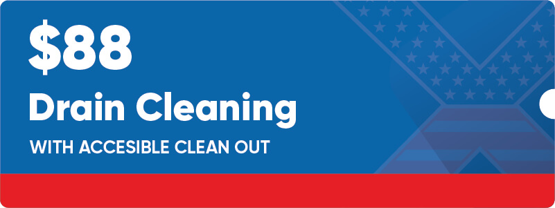 $88 Drain Cleaning Coupon