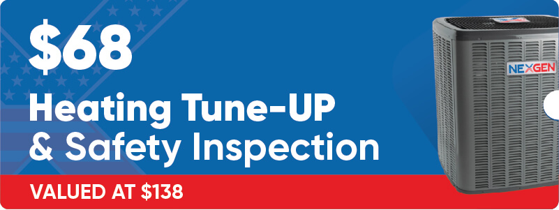 $68 Heating Tune Up Offer