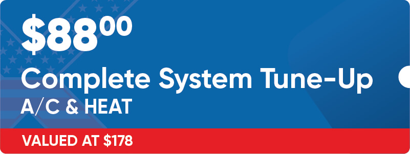$88 Complete Heating and AC System Tune Up Coupon
