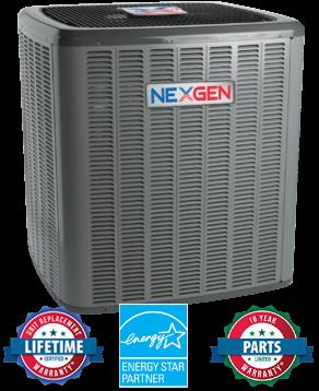 Nexgen AC Unit with Certification Badges