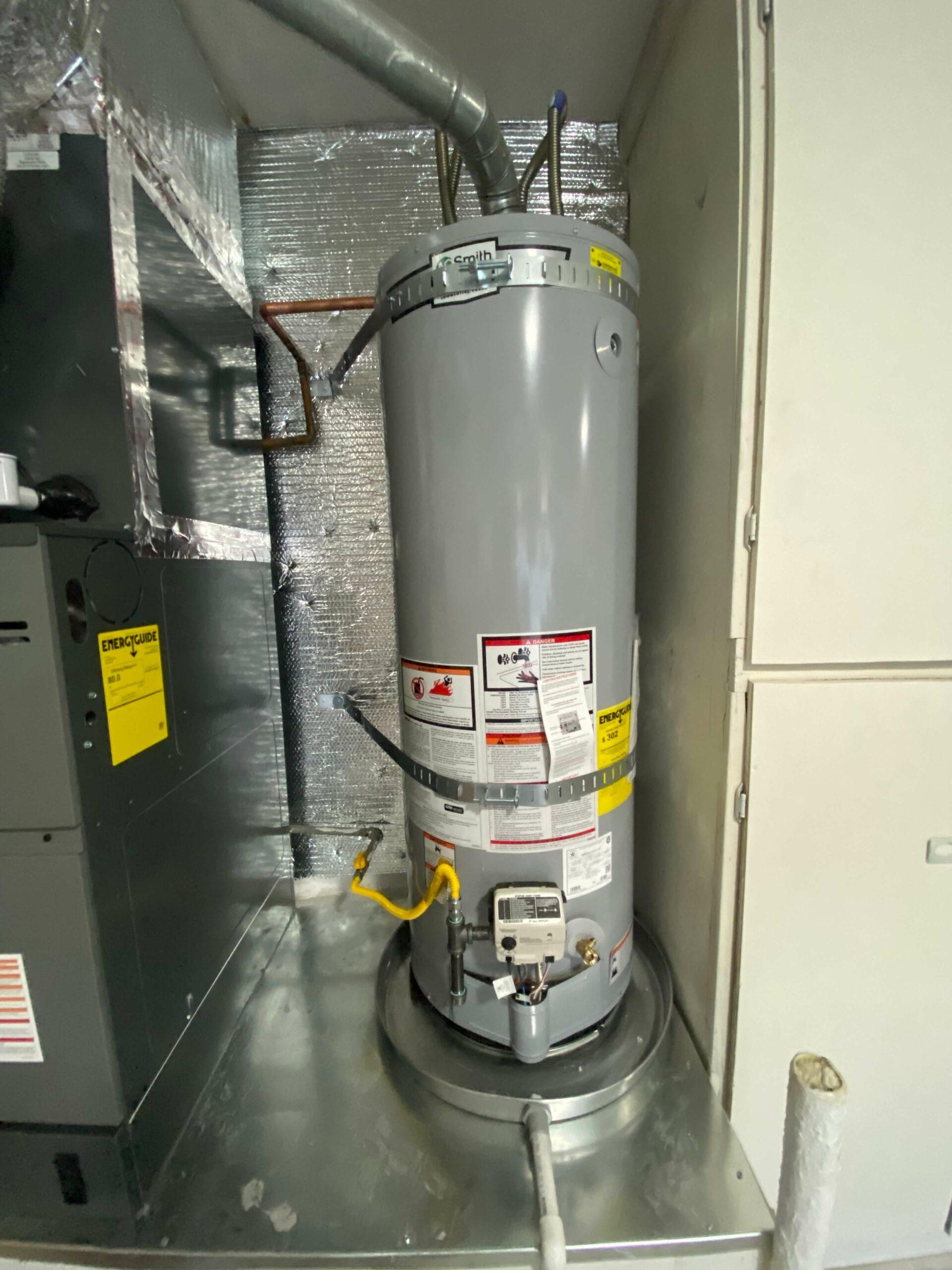 water heater tank