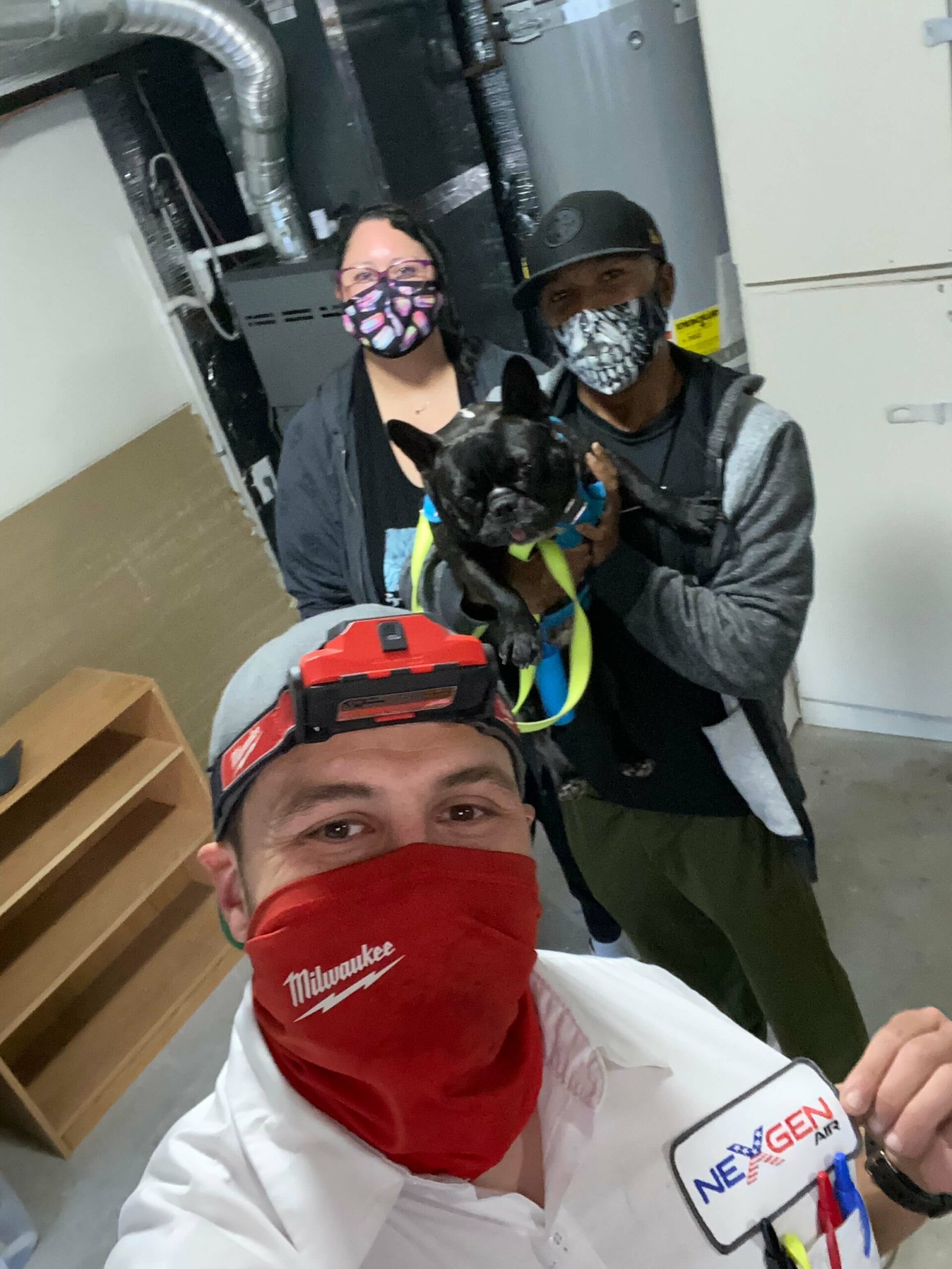 Happy Customers with Nexgen Employee