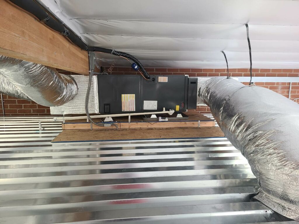air duct furnace