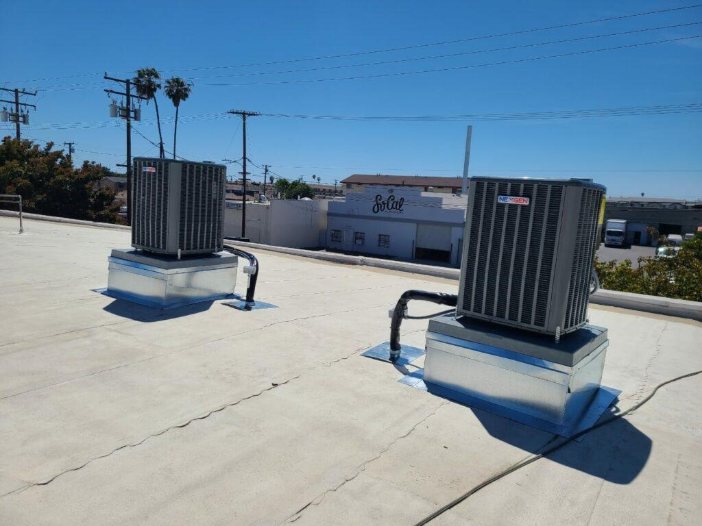 Nexgen HVAC units on rooftop