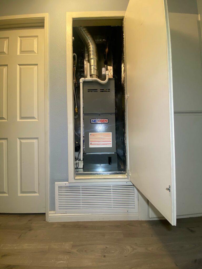new Nexgen furnace
