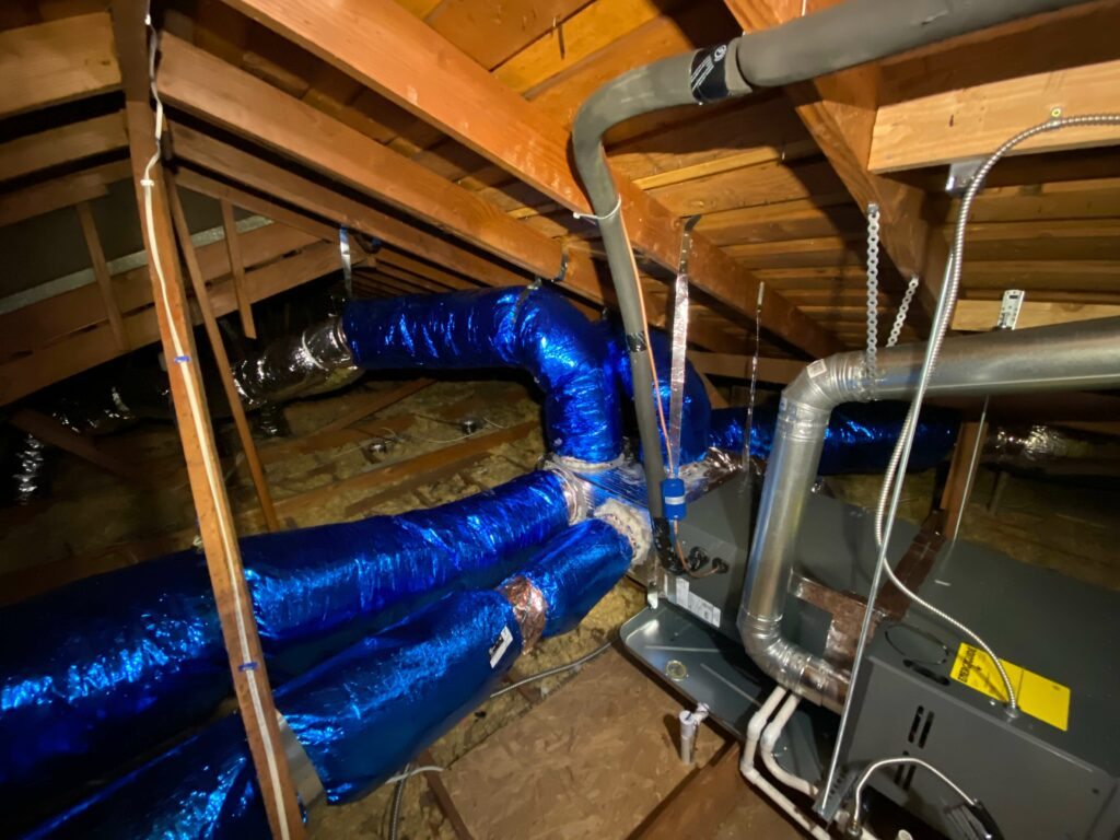 Furnace and Attic Ducts