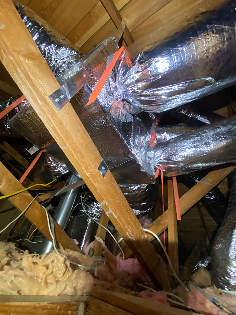 complex ductwork