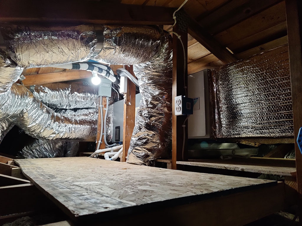 heater and ductwork
