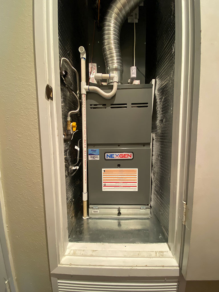 new water heater perfect fit