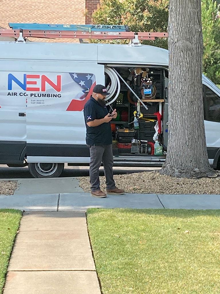 Nexgen van and employee
